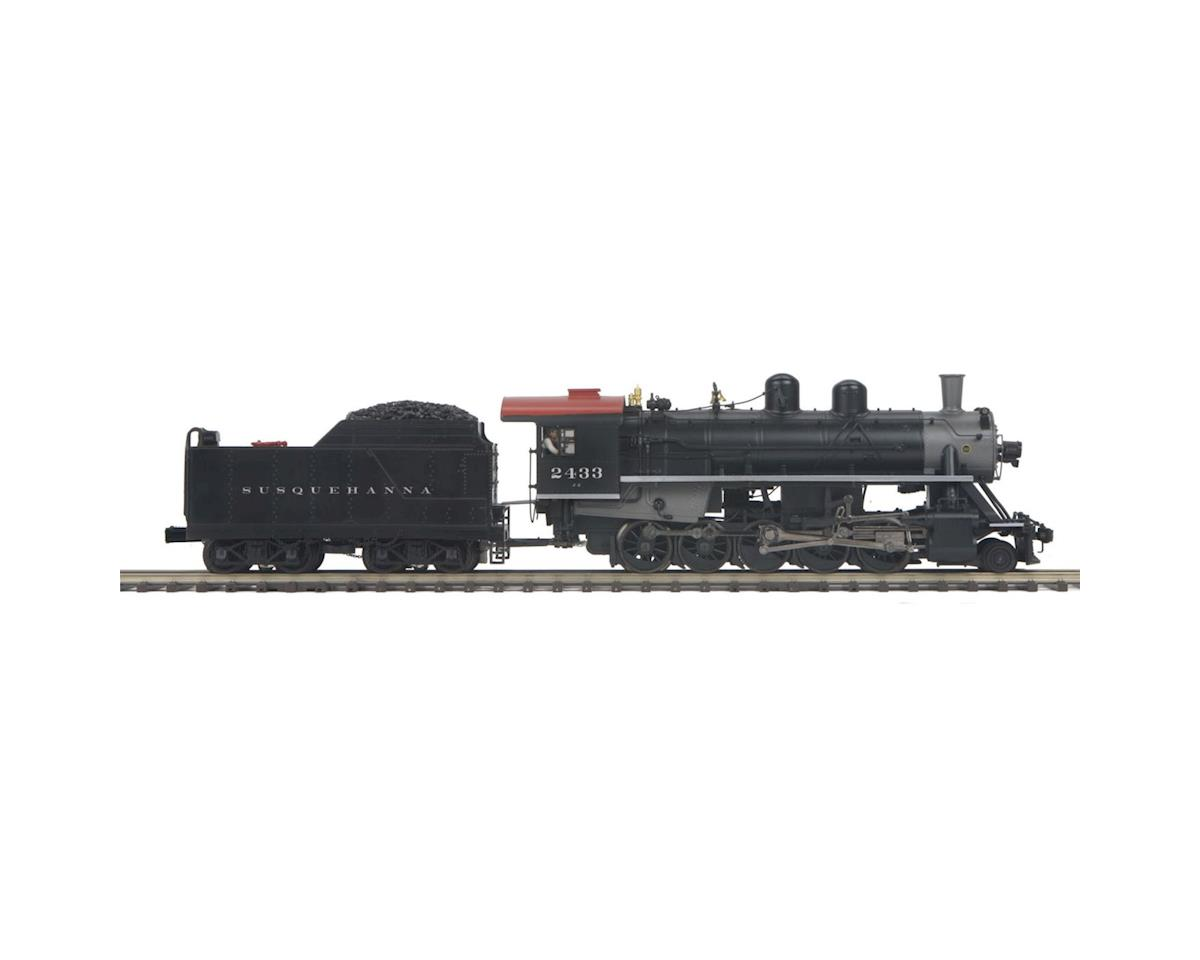 MTH Trains O Scale 2-10-0 Russian Decapod w/PS3, NYS&W #2433