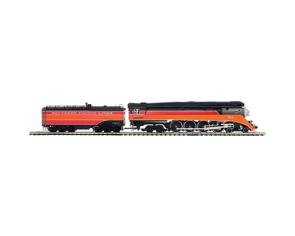 MTH Trains O Scale 4-8-4GS-4 w/PS3,SP Lines #4436