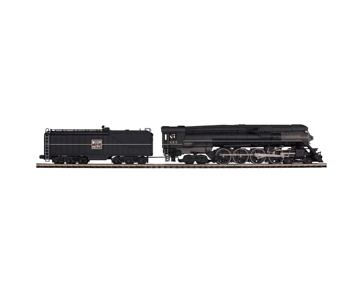MTH Trains O Scale 4-8-4 GS-6 w/PS3, WP #485