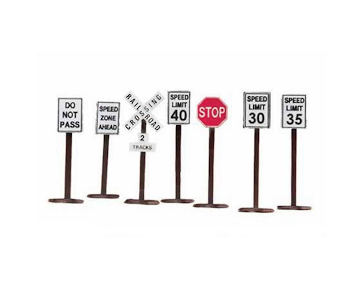 MTH Trains O Road Sign Set