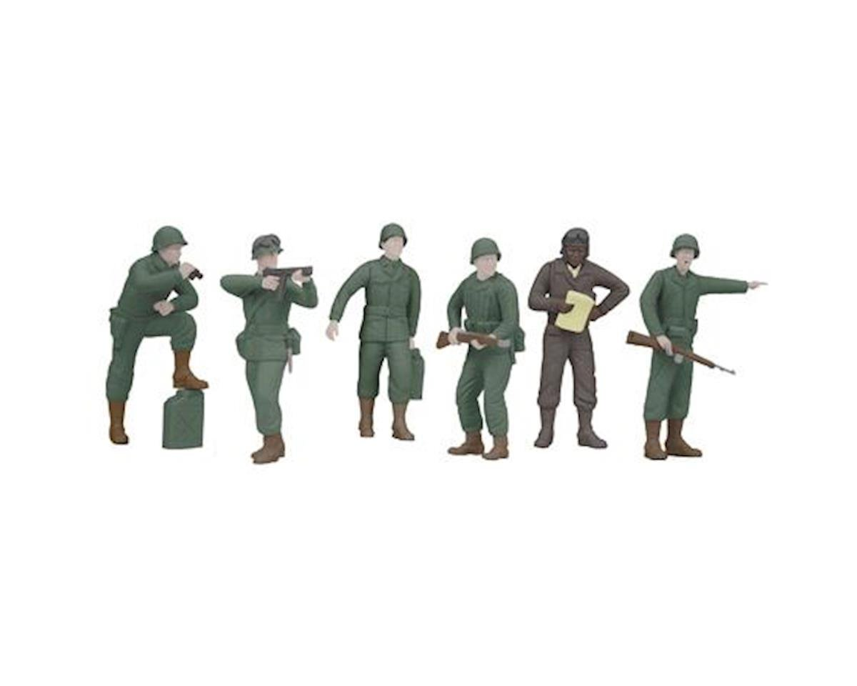 O Army Figures #7 (6) by MTH Trains