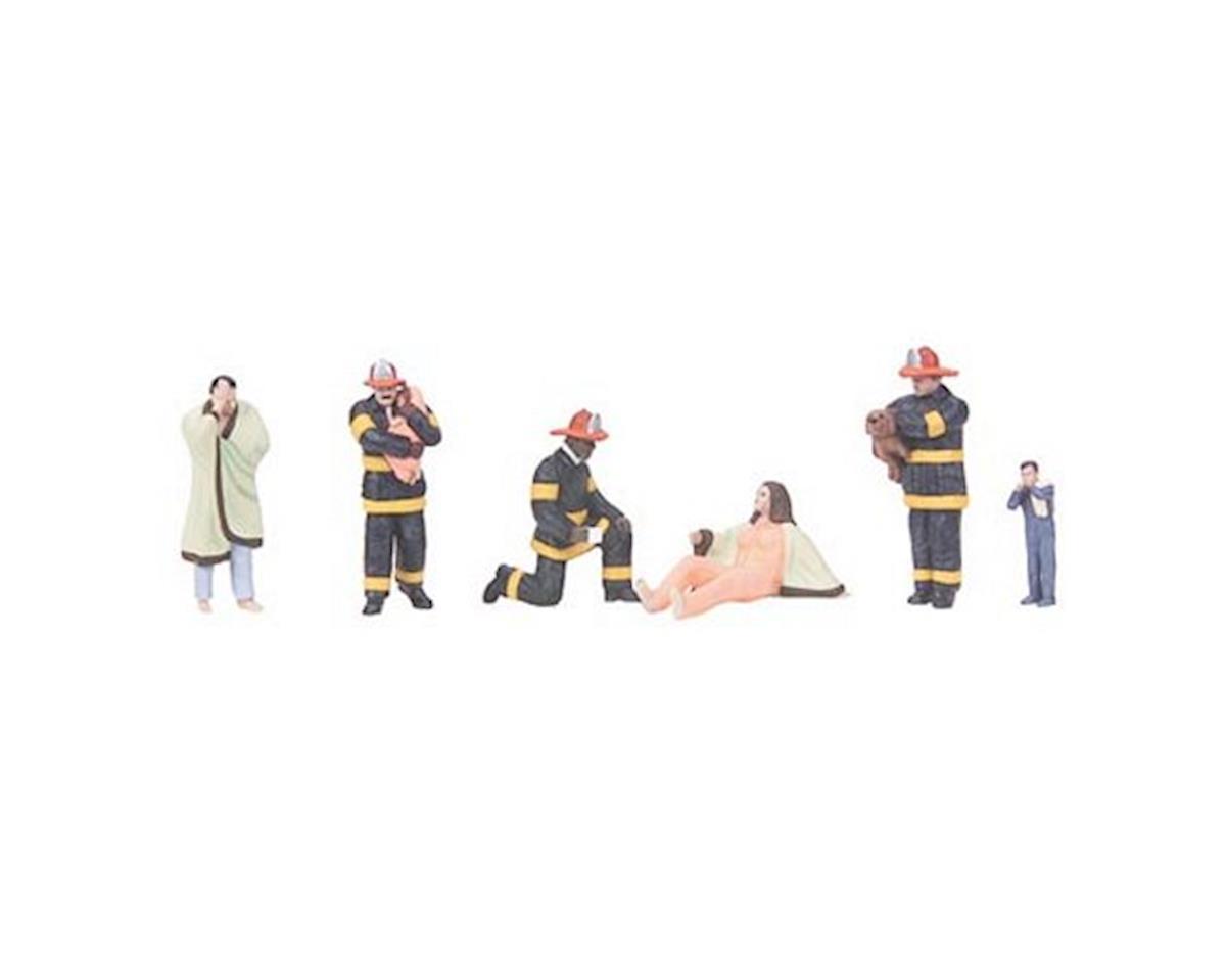 MTH Trains O Fire Scene Figures #8 (6)