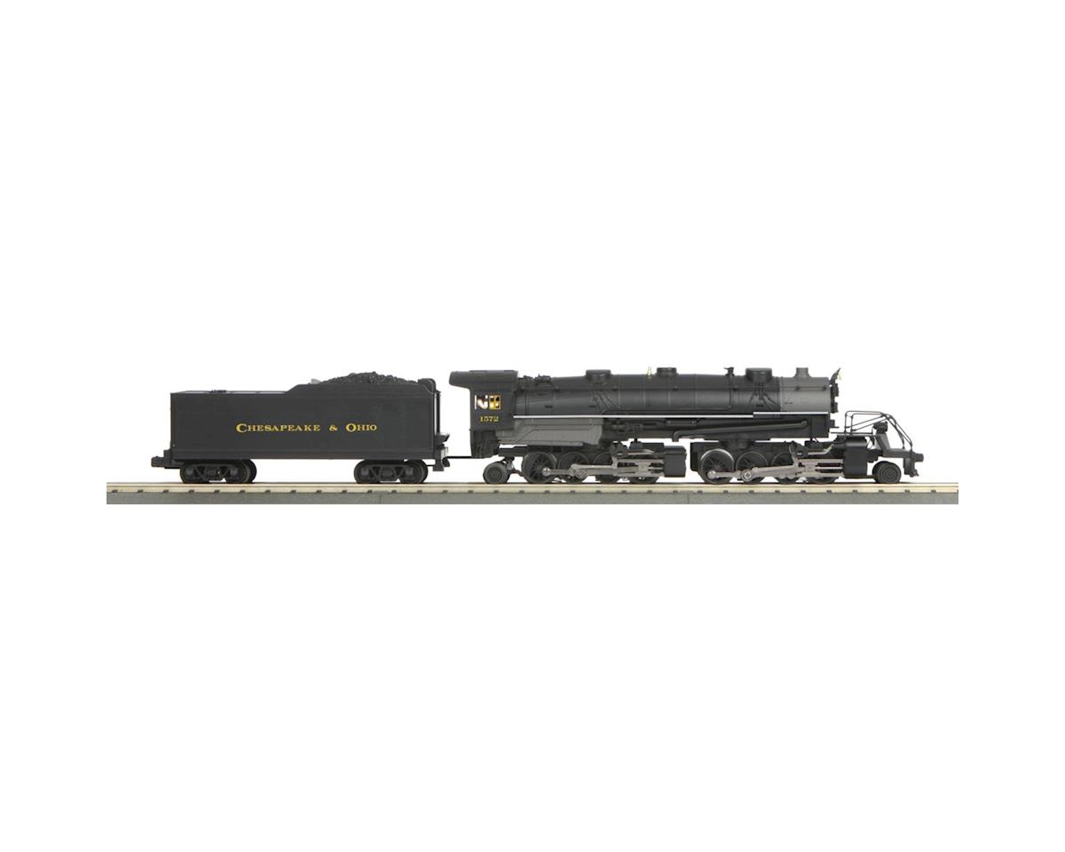 MTH Trains O-27 Imperial 2-8-8-2 w/PS3, C&O