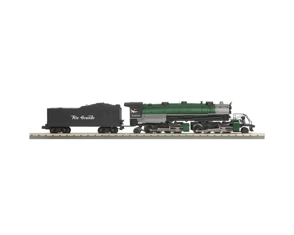MTH Trains O-27 Imperial 2-8-8-2 w/PS3, D&RGW