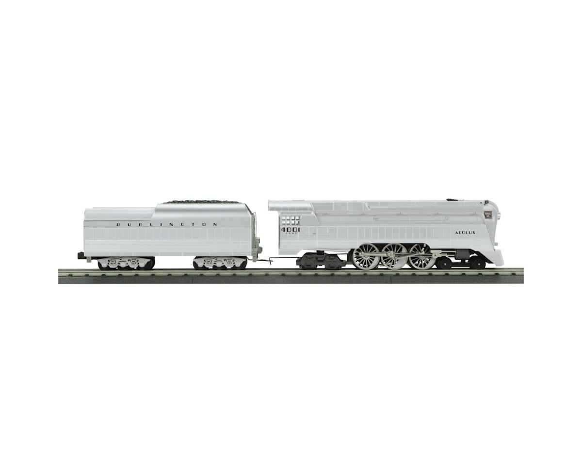 MTH Trains O-27 Imperial Streamline 4-6-4 w/PS3, CB&Q