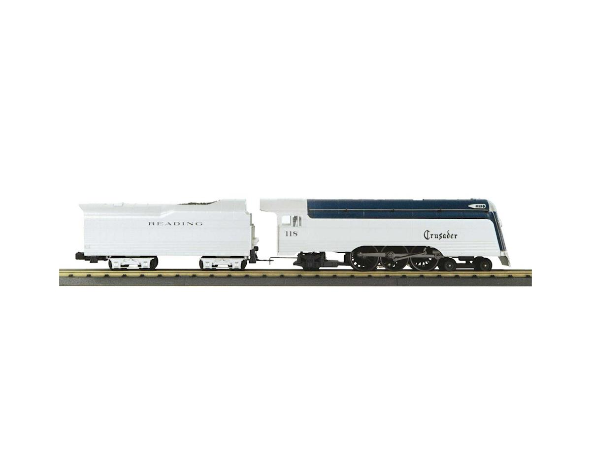 MTH Trains O-27 4-6-2 Crusader w/PS3, RDG #118