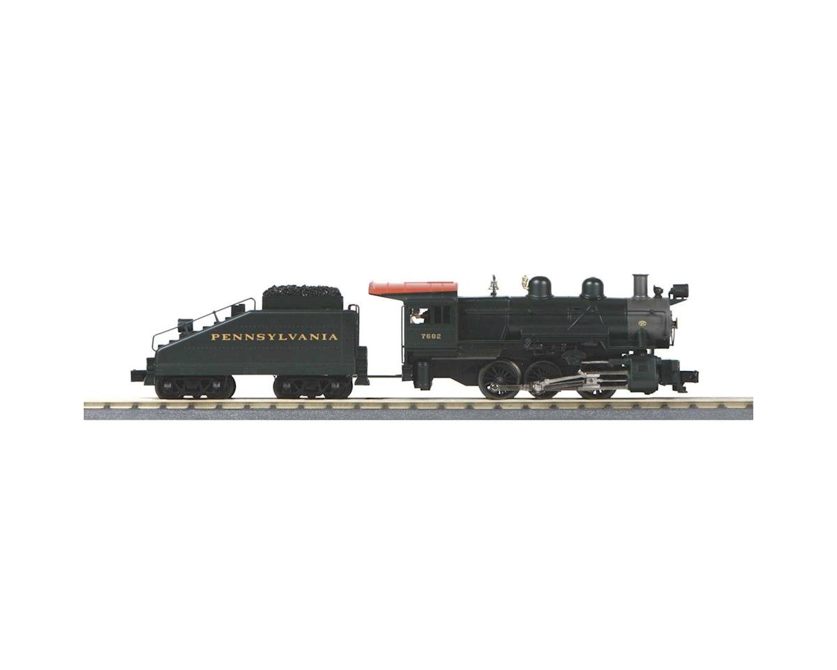 MTH Trains O-27 Imperial 0-6-0 B6 Switcher w/PS3, PRR #7682