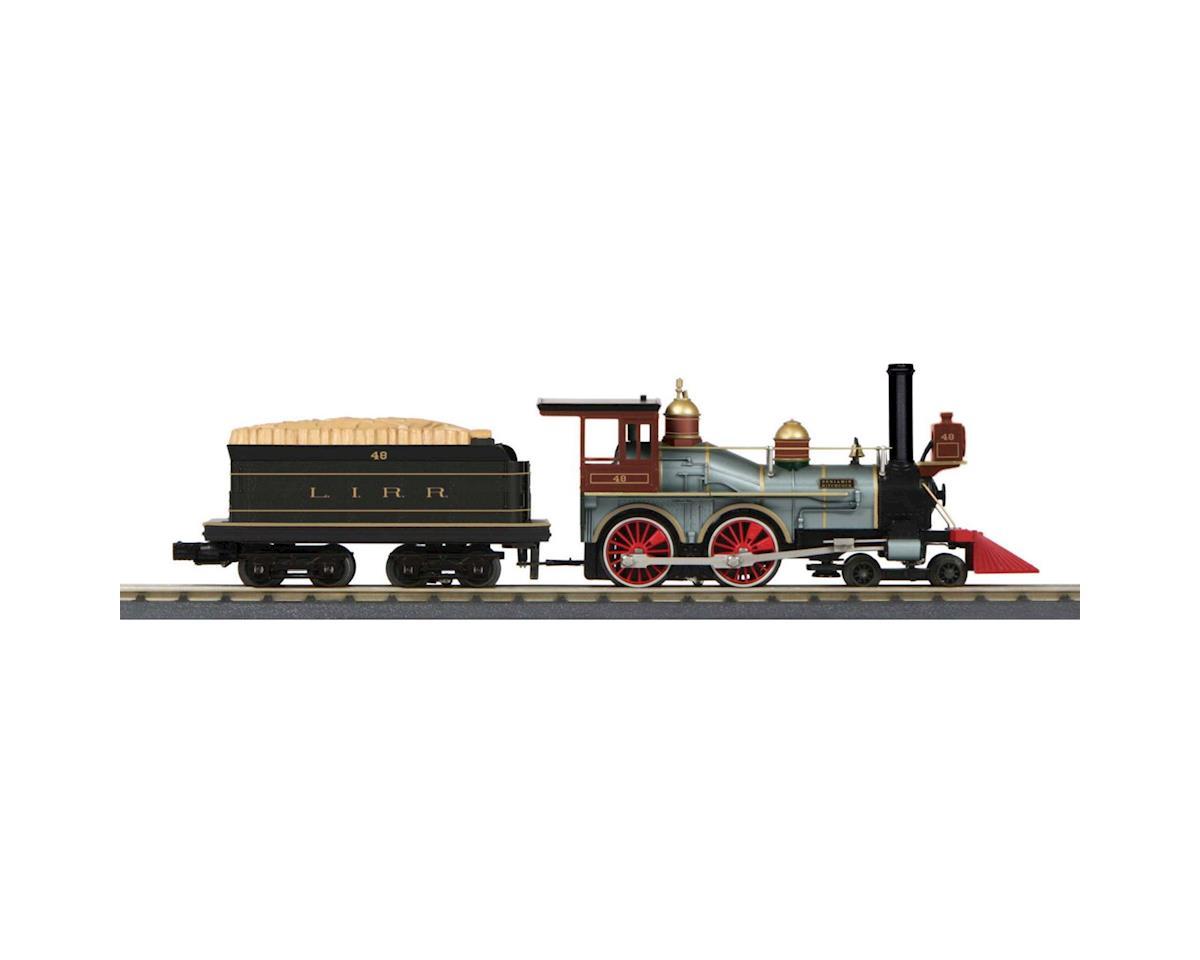 MTH Trains O-27 4-4-0 w/PS3, LIRR #48