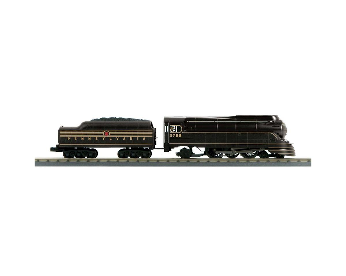 MTH Trains O-27 4-6-2 Torpedo w/PS3, PRR/Black #3768