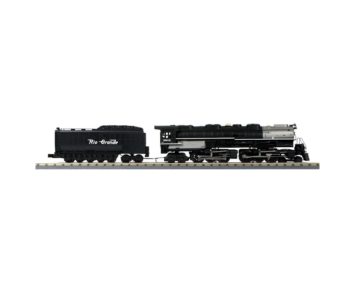 MTH Trains O-27 Imperial 4-6-6-4 Challenger w/PS3,D&RGW #3802