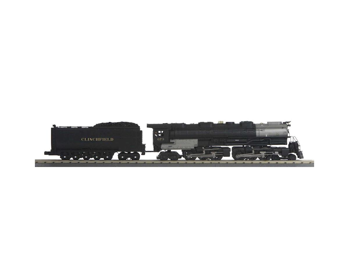 MTH Trains O-27 Imperial 4-6-6-4 Challenger w/PS3, CRR #673