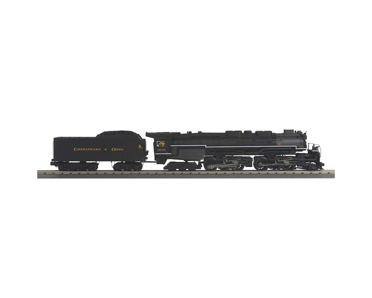 MTH Trains O-27 Imperial 2-6-6-6 Allegheny w/PS3, C&O #1601