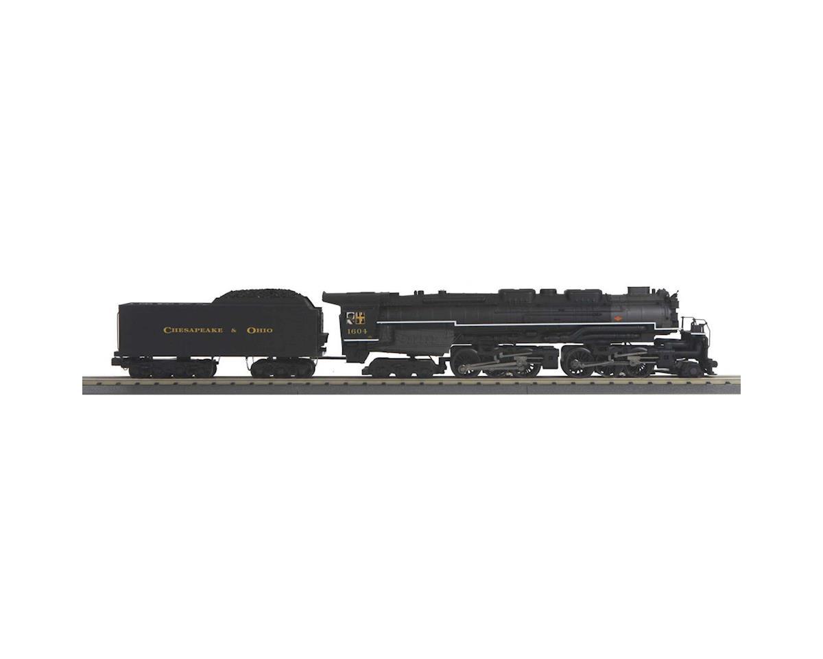 MTH Trains O-27 Imperial 2-6-6-6 Allegheny w/PS3, C&O #1604