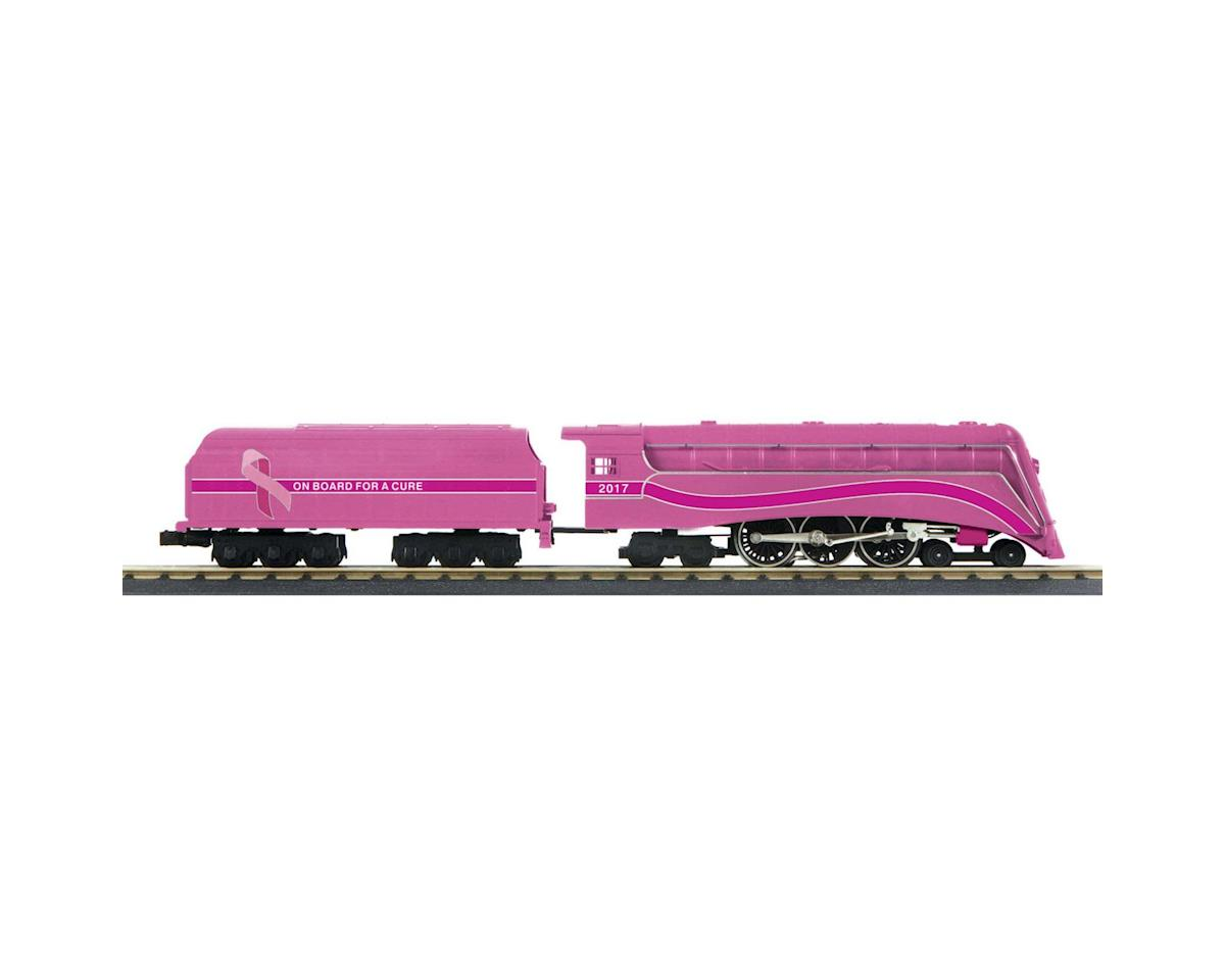 MTH Trains O-27 4-6-4 Commodore w/PS3, Breast Cancer #2017