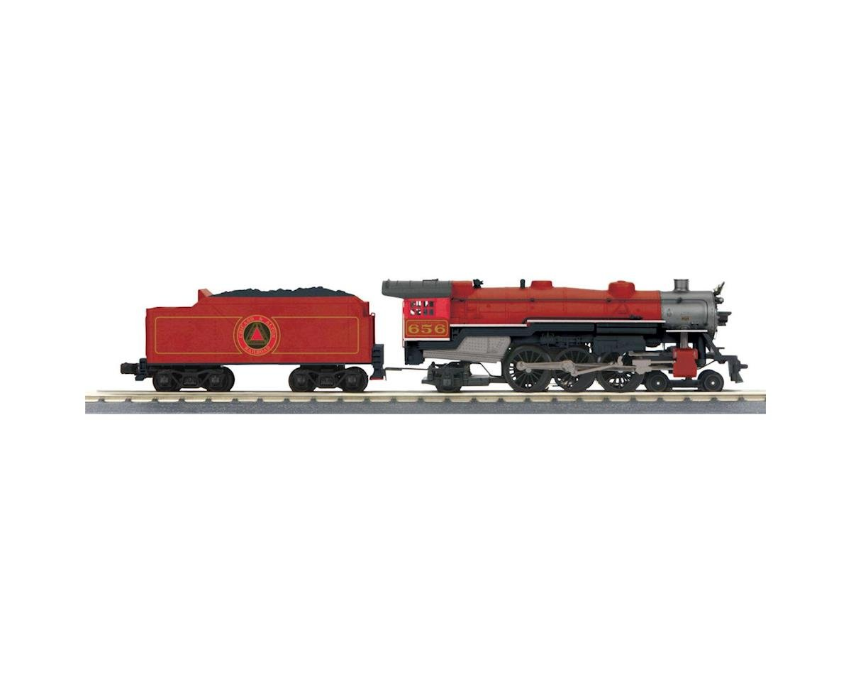MTH Trains O-27 Imperial 4-6-2 Pacific w/PS3, C&A #656