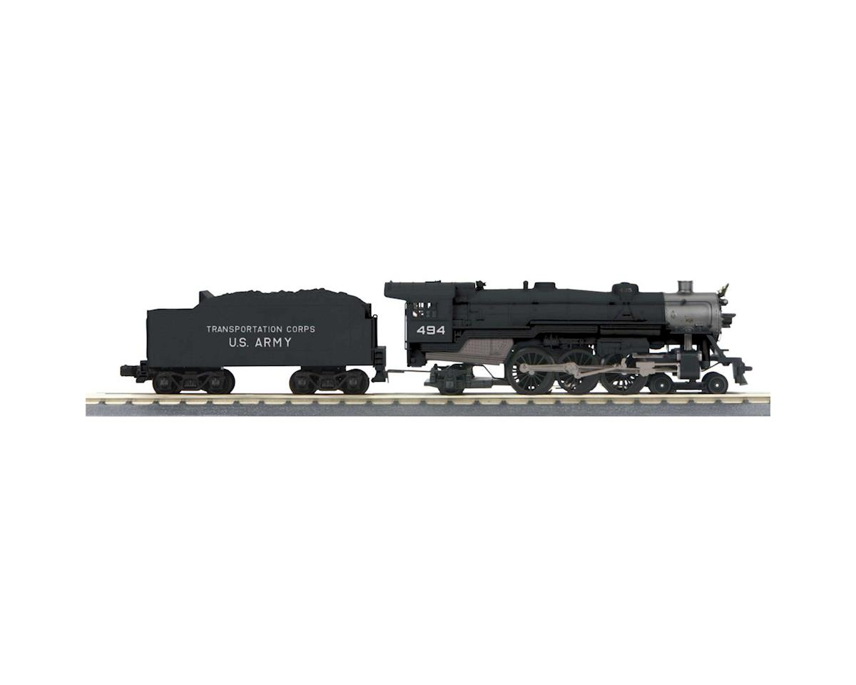 MTH Trains O-27 Imperial 4-6-2 Pacific w/PS3, US Army #496