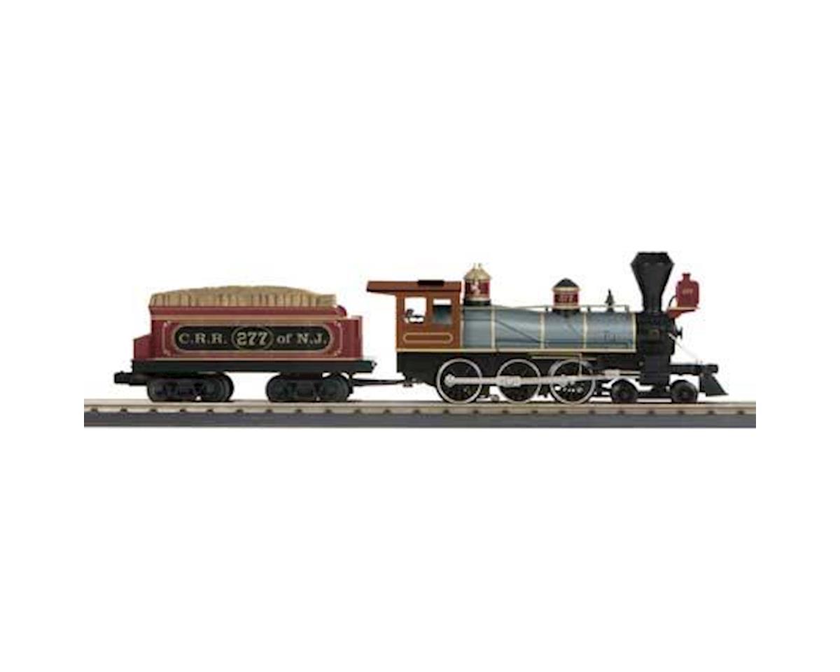 MTH Trains O-27 4-6-0 Ten Wheeler w/PS3, CNJ #277