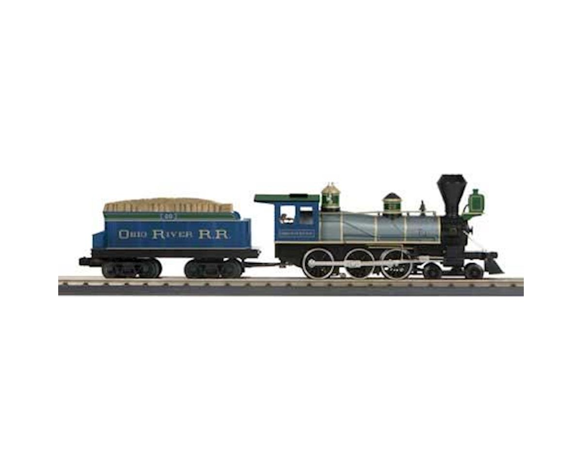 MTH Trains O-27 4-6-0 Ten Wheeler w/PS3, Ohio River RR #20