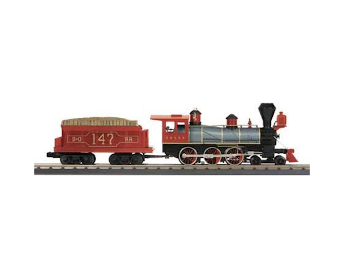 MTH Trains O-27 4-6-0 Ten Wheeler w/PS3, B&O #147