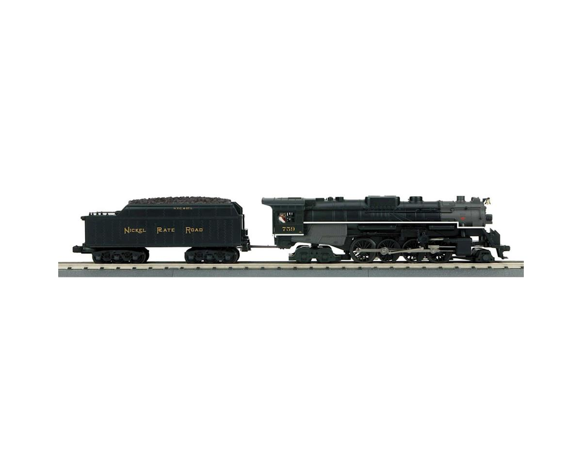 MTH Trains O-27 Imperial 2-8-4 Bershire w/PS3, NKP #759