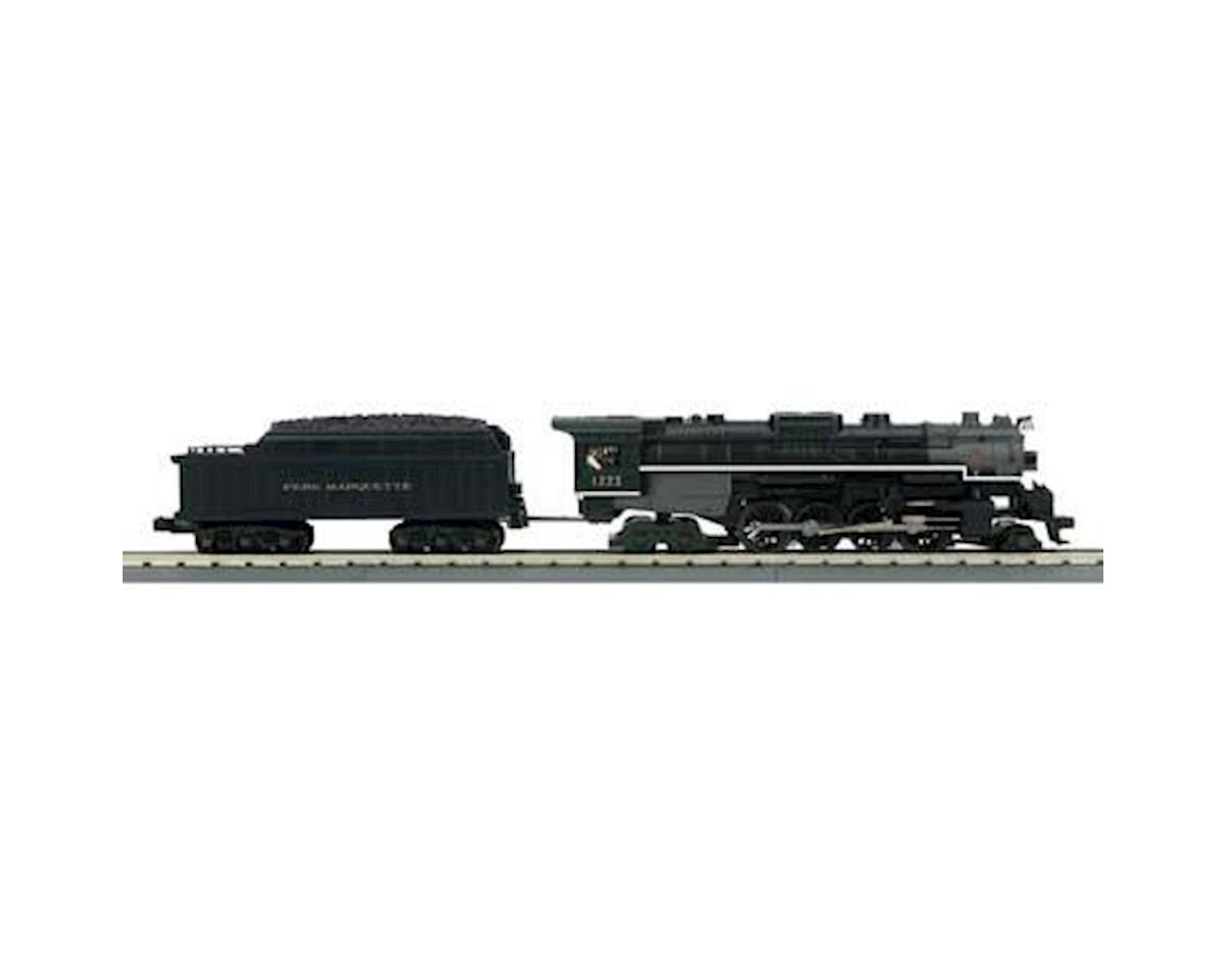 MTH Trains O-27 Imperial 2-8-4 Bershire w/PS3, PM #1223