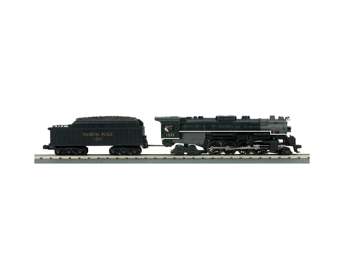 MTH Trains O-27 Imperial 2-8-4 Bershire w/PS3,North Pole#1225