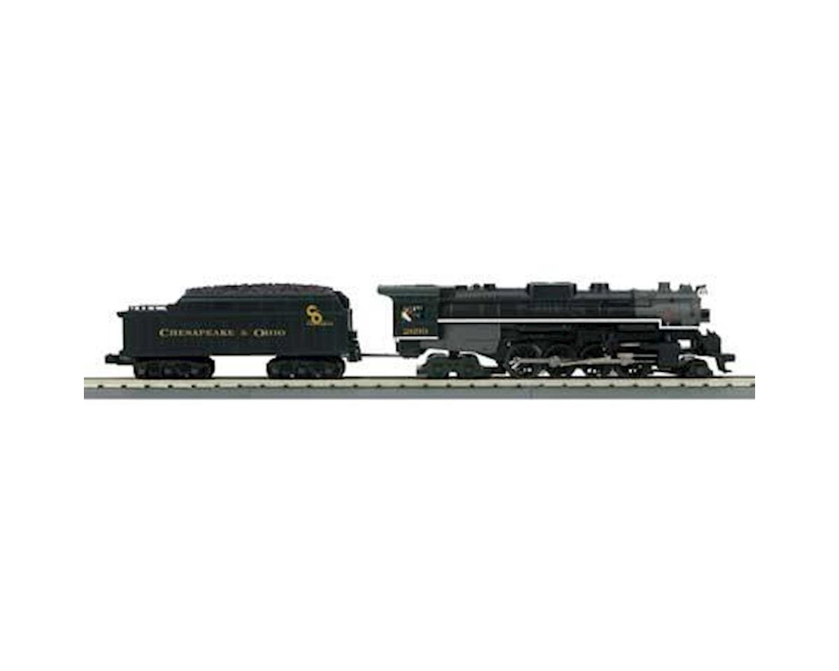 MTH Trains O-27 Imperial 2-8-4 Bershire w/PS3, C&O #2699