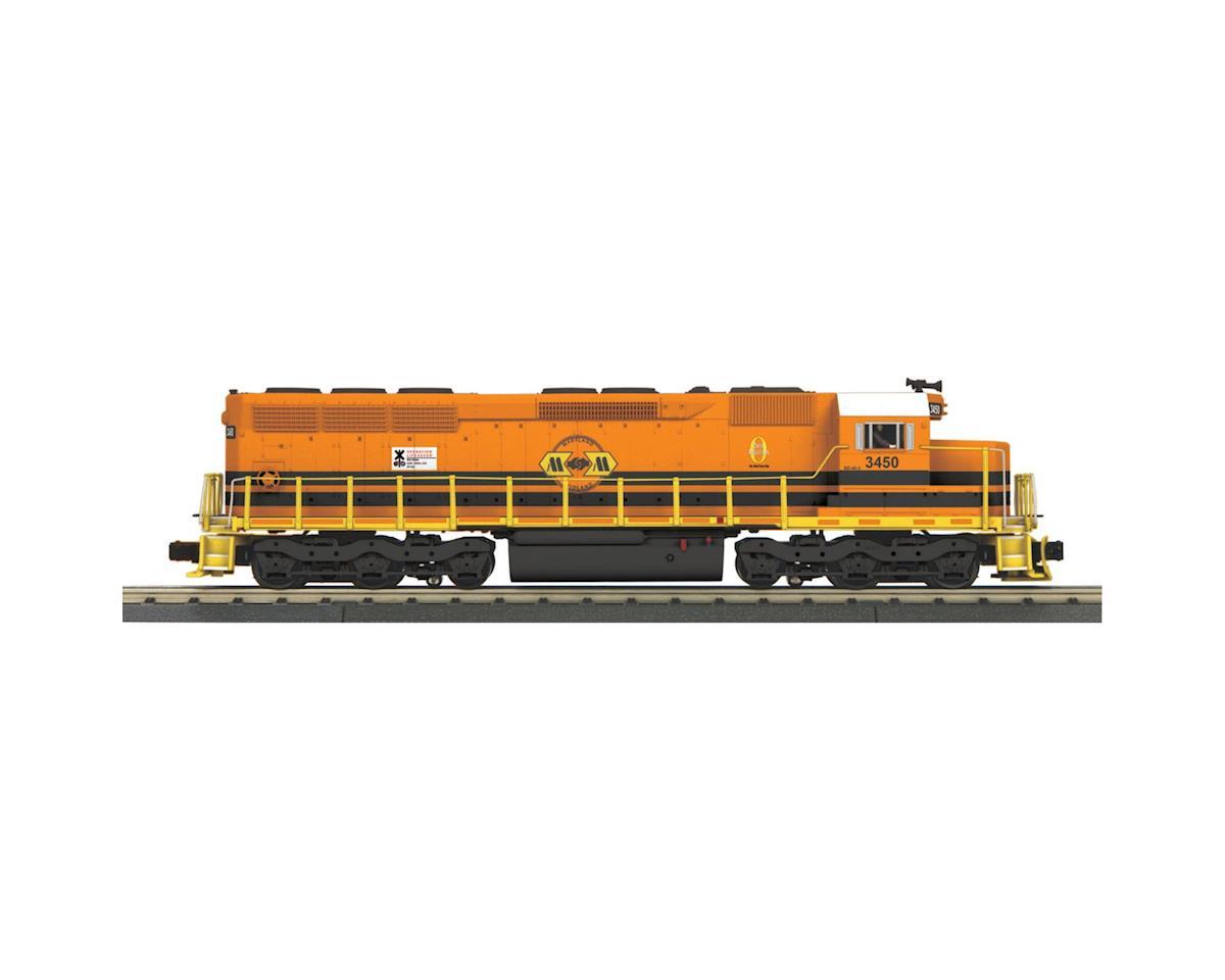 MTH Trains O-27 SD-45 w/PS3, MMID