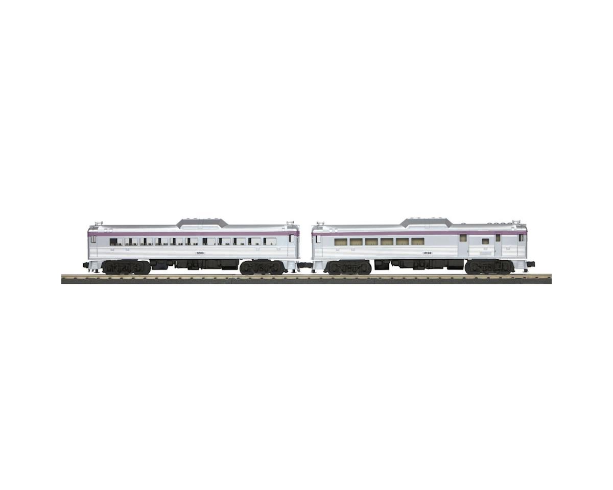 MTH Trains O-27 RDC Budd Car Set w/PS3, MSBAY #1