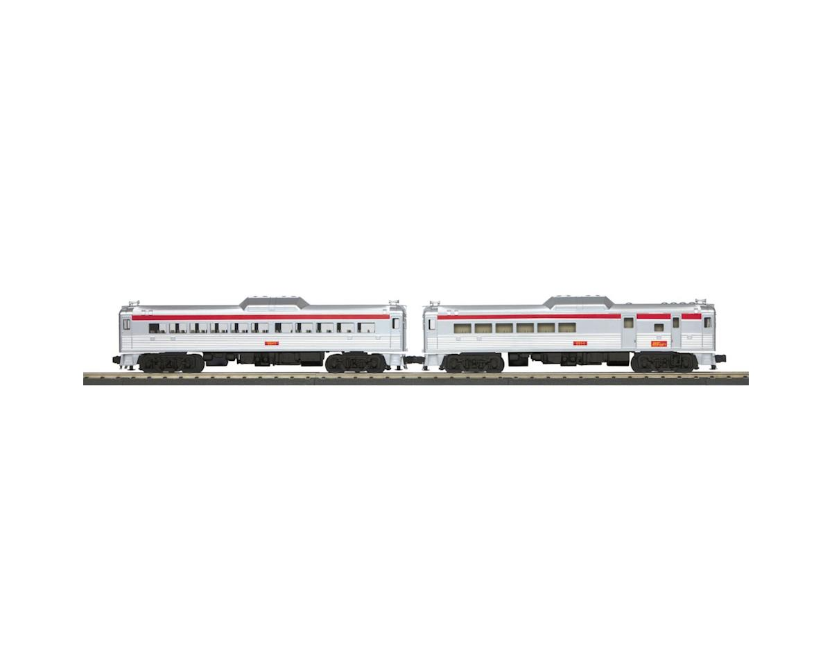 MTH Trains O-27 RDC Budd Car Set w/PS3, Port Authority #1