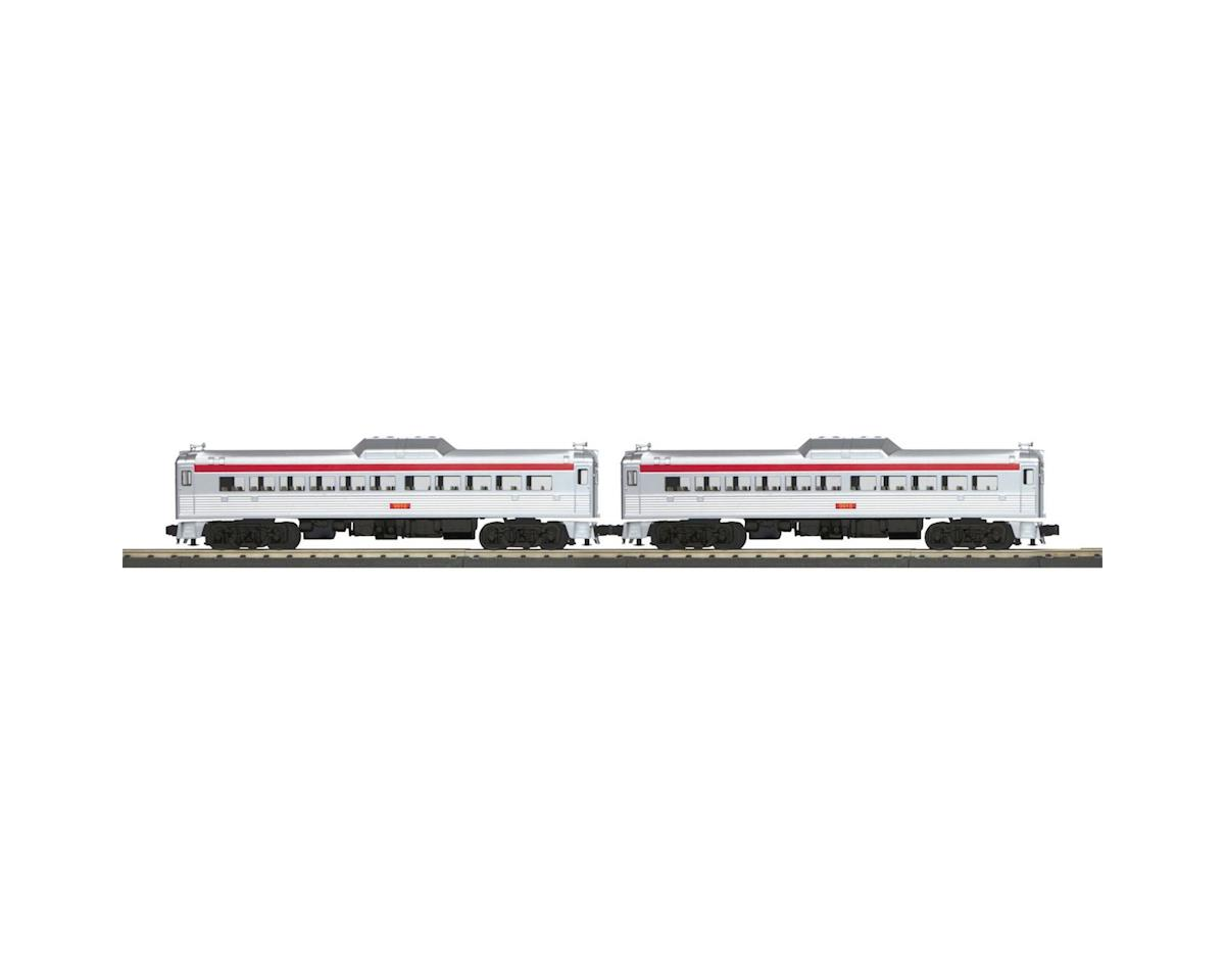 MTH Trains O-27 RDC Budd Car Add-On, Port Authority (2)