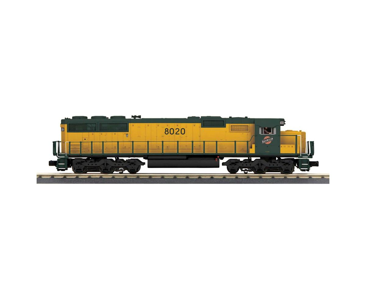 MTH Trains O-27 SD60 w/PS3, C&NW #8020