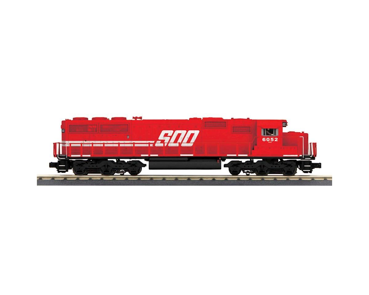MTH Trains O-27 SD60 w/PS3, SOO #6052