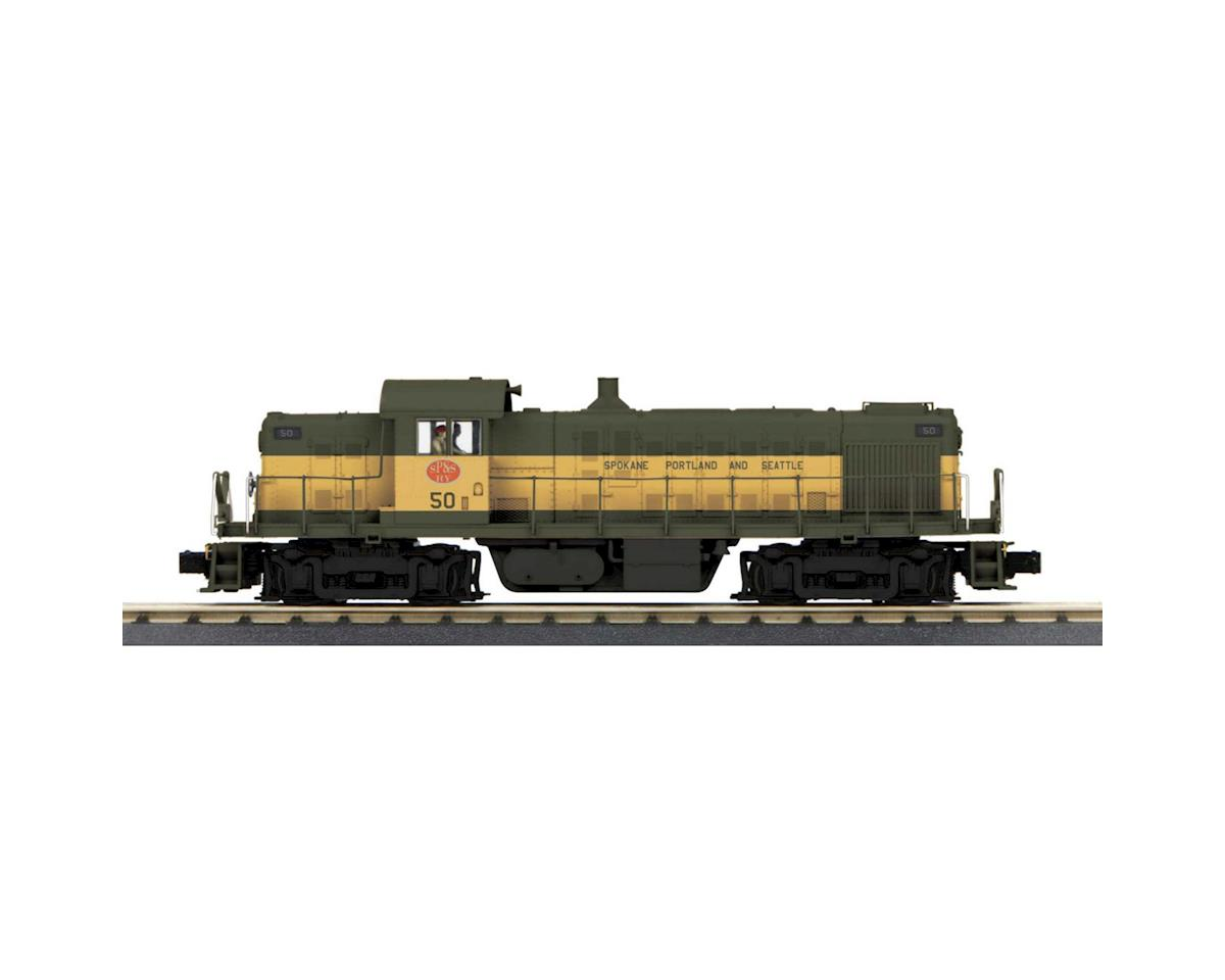 MTH Trains O-27 RS1 w/PS3, SP&S #50
