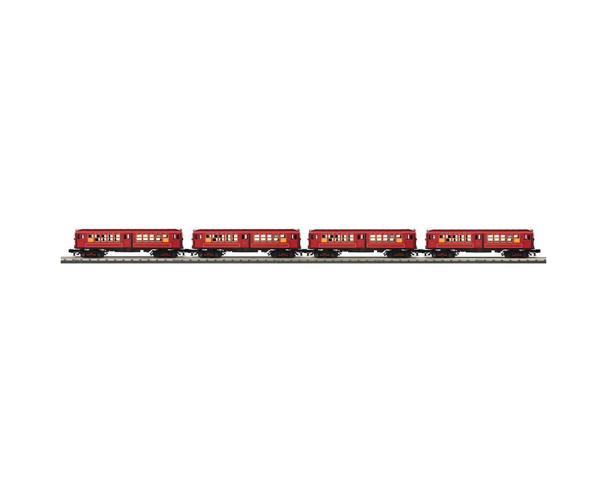 MTH Trains O-27 LO-V Subway Set w/PS3, MTA #4037 (4)