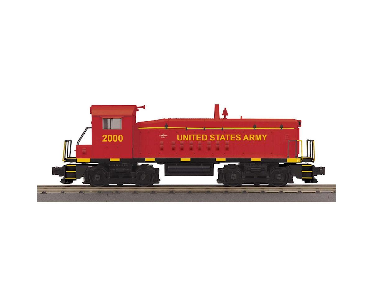 MTH Trains O-27 SW8 w/PS3,  USARM #2000