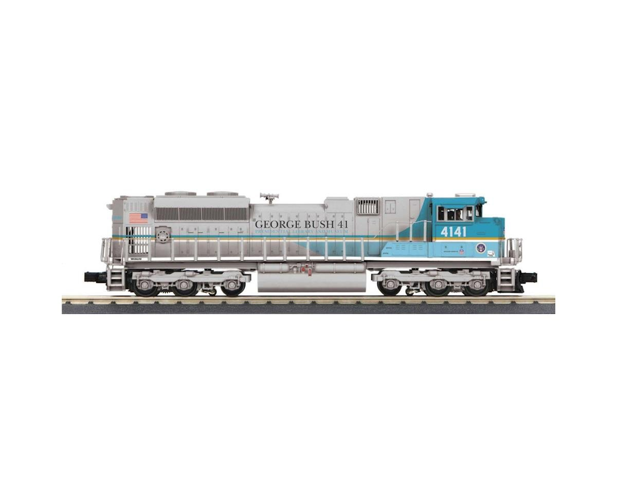 MTH Trains O-27 Imperial SD70ACe w/PS3, George H Bush #4141