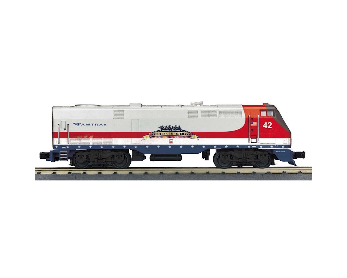 MTH Trains O-27 Genesis w/PS3, Amtrak #42