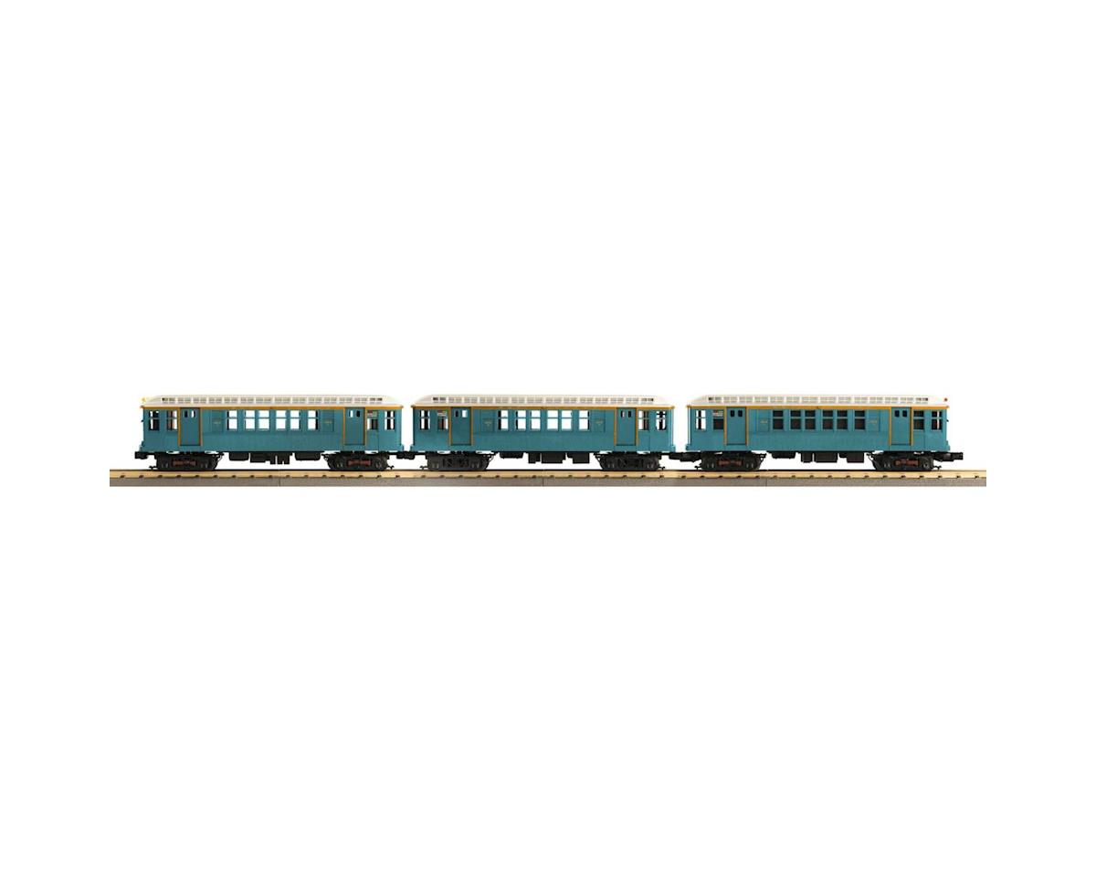 MTH Trains O-27 Q Type Subway Dummy, MTA/Blue (3)