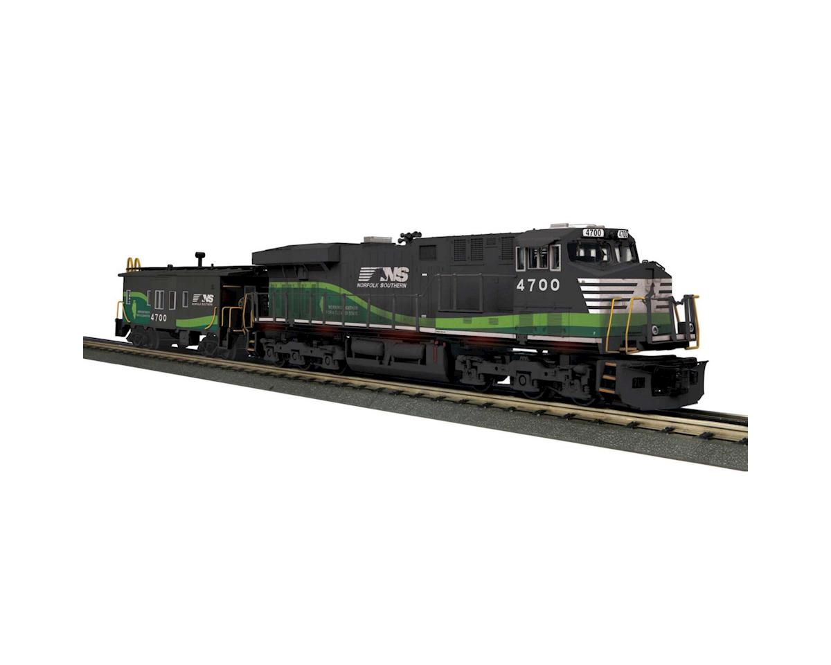 MTH Trains O-27 Imperial ES44AC & Caboose w/PS3, NS/Echo