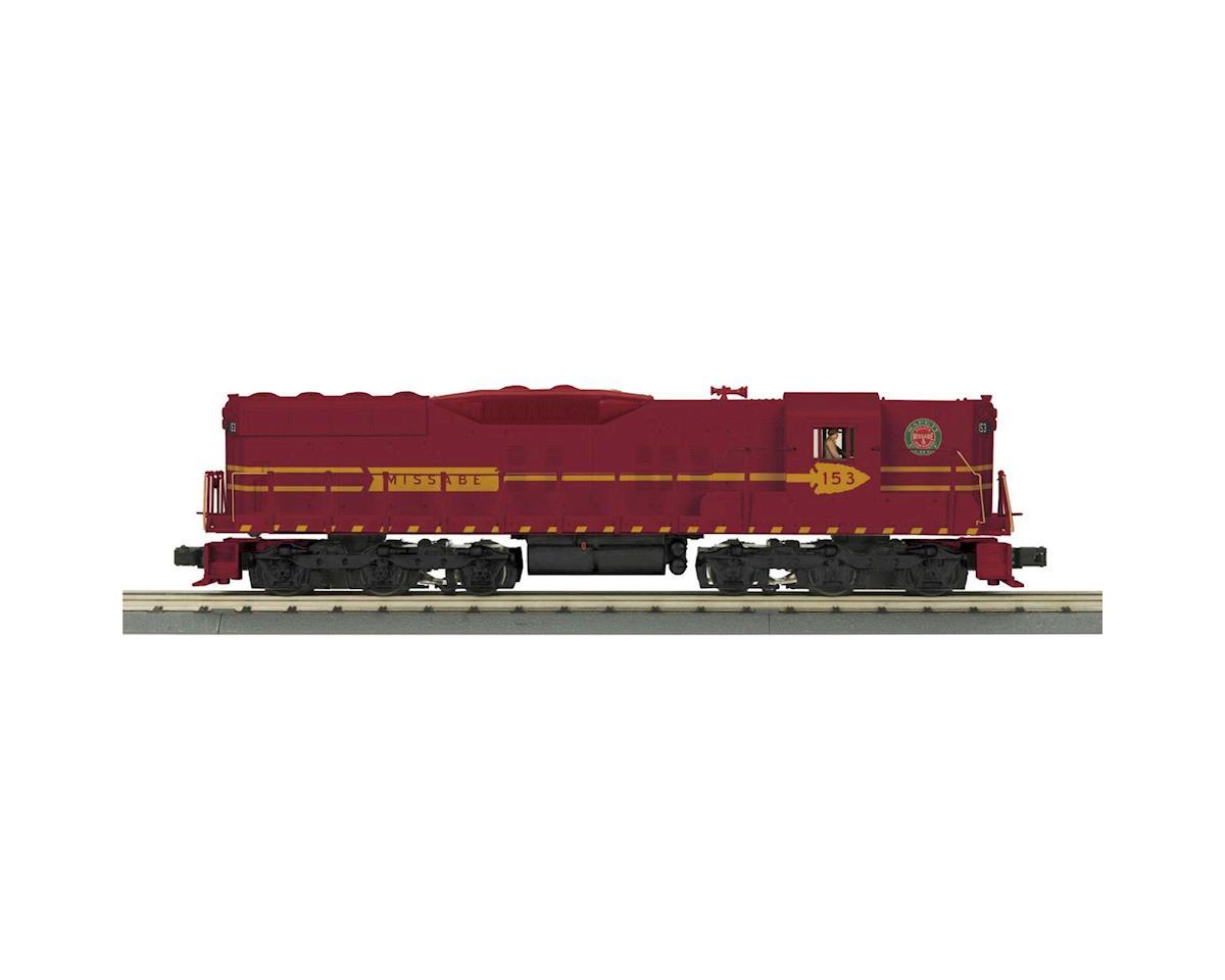 MTH Trains O-27 SD-9 w/PS3, DM&IR #153