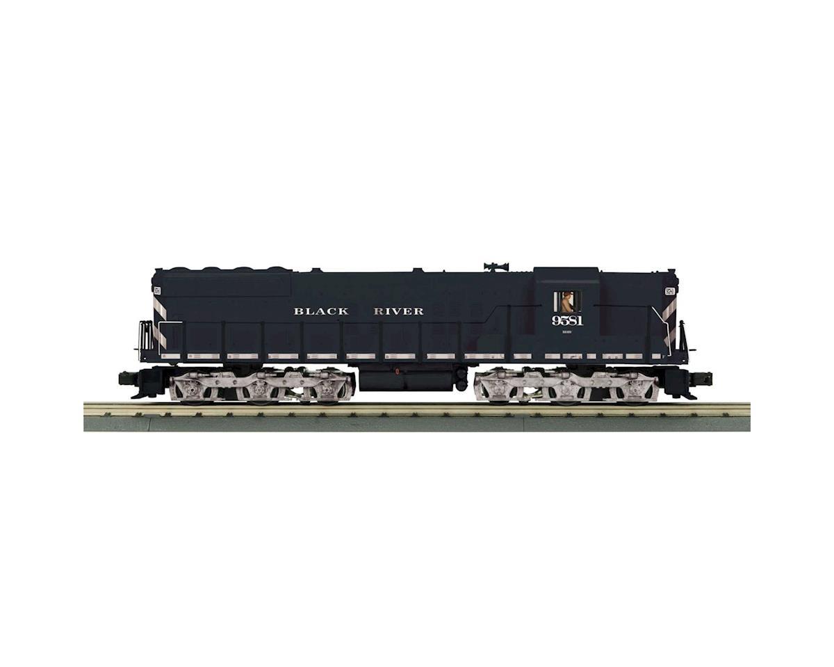 MTH Trains O-27 SD-9 w/PS3, BR&W #9581
