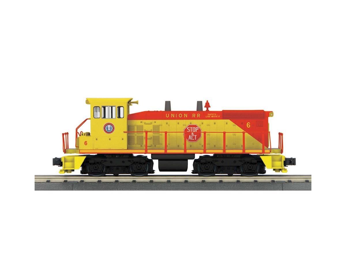 MTH Trains O-27 SW1500 w/PS3, Union Railroad #6