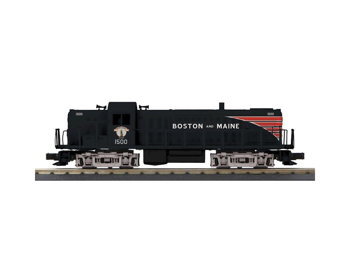 MTH Trains O-27 RS-3 w/PS3, B&M #1500