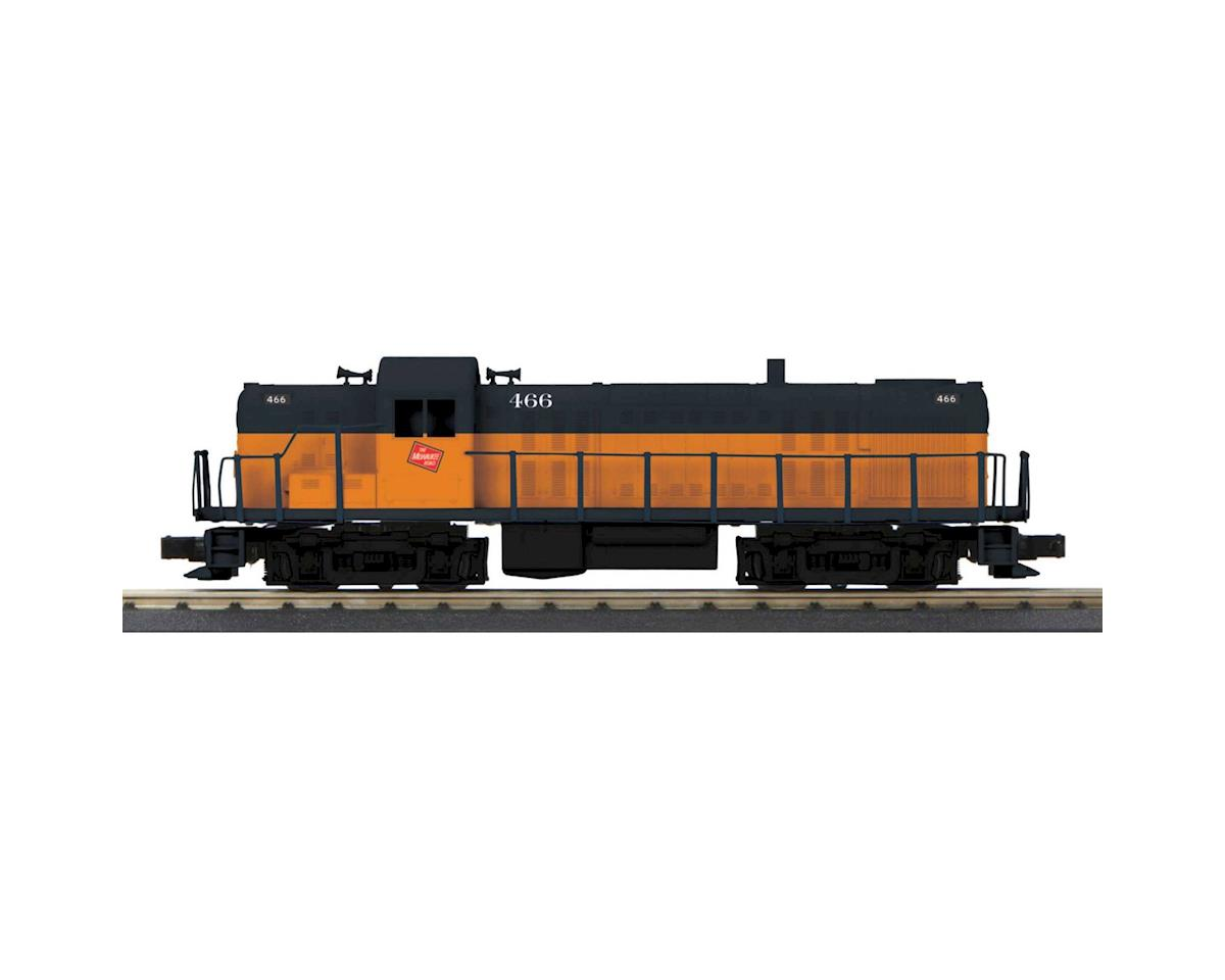 O-27 RS3 w/PS3, MILW #466 by MTH Trains