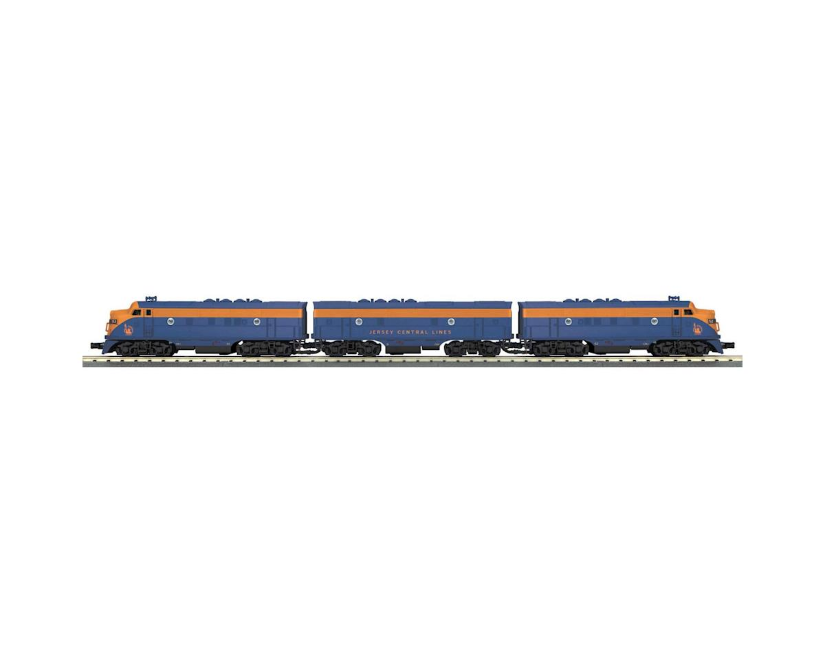 MTH Trains O-27 F3 ABA w/PS3, CNJ #52