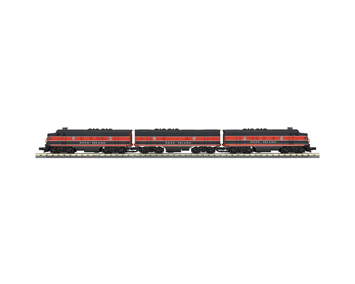MTH Trains O-27 F3 ABA w/PS3, RI #107