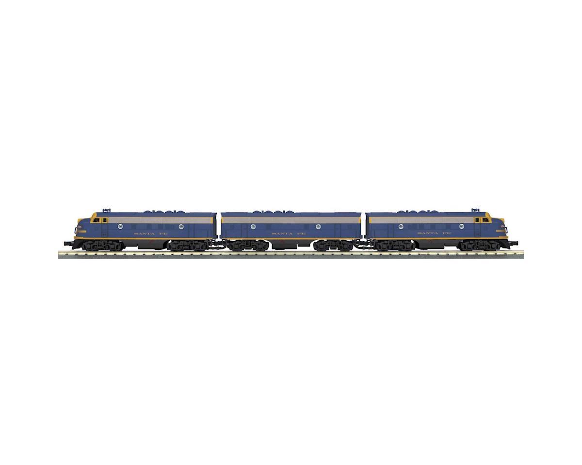 O-27 F3 ABA w/PS3, SF #201A by MTH Trains