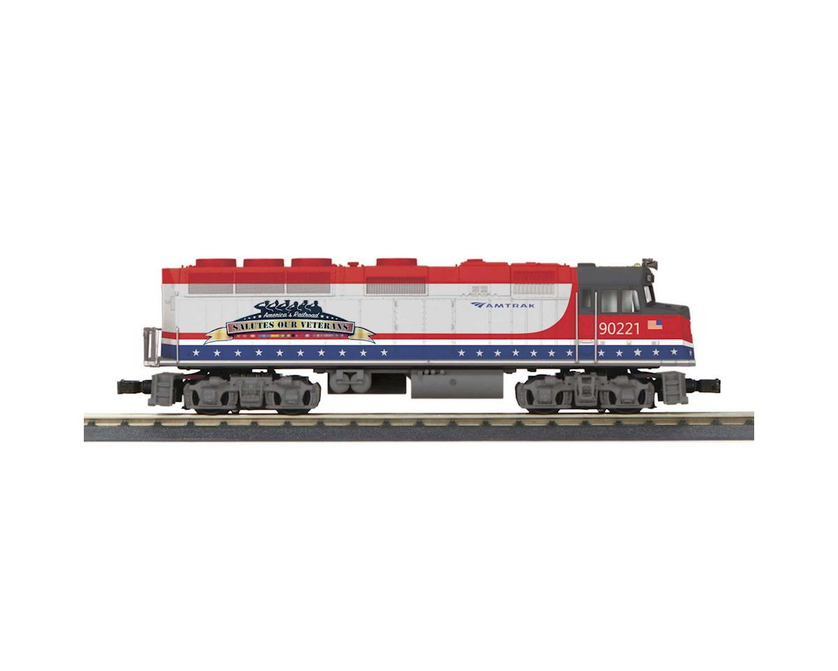 MTH Trains O-27 F40 w/PS3, Amtrak #90221
