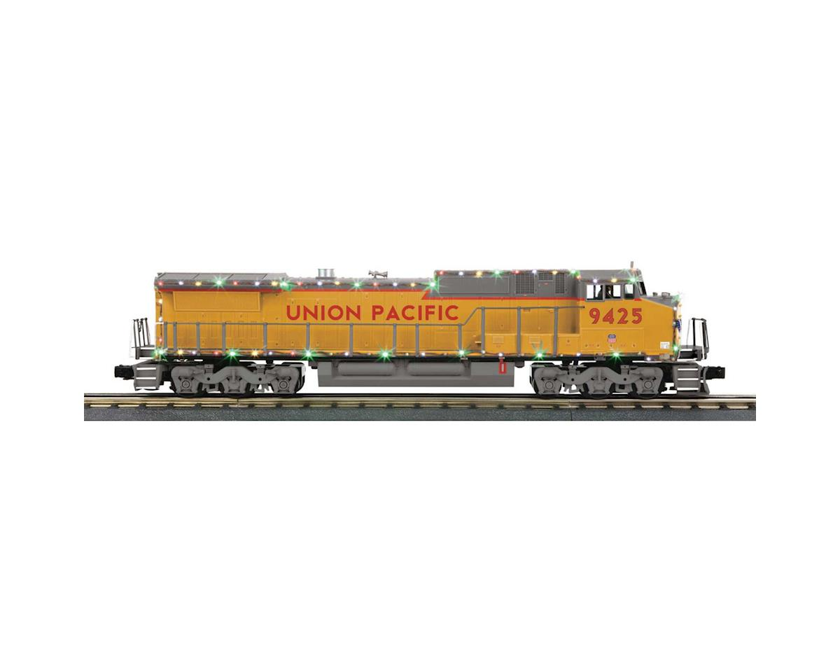 MTH Trains O-27 Dash-8 w/PS3 & LED Lights, UP #9425